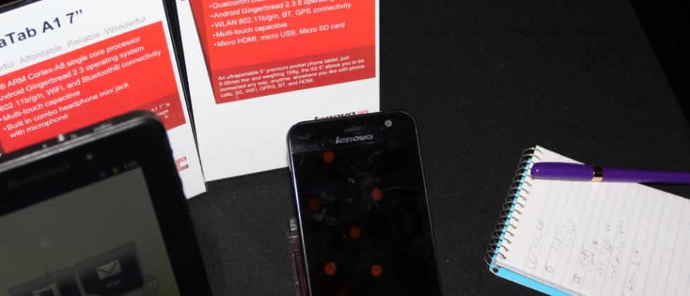 Lenovo S2 tablets shown off at CES