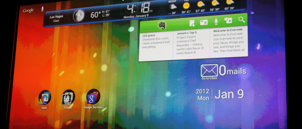 Android 4.0 for Tablets shouldn't be judged until it's released