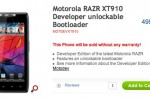 Motorola takes on Google Nexus with RAZR Developer Edition