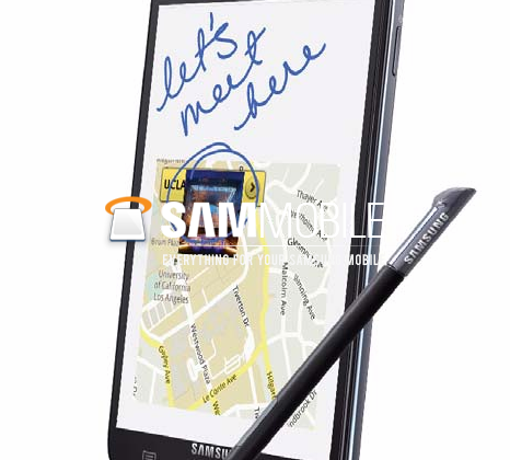 AT&T Samsung Galaxy Note shown in leaked photos