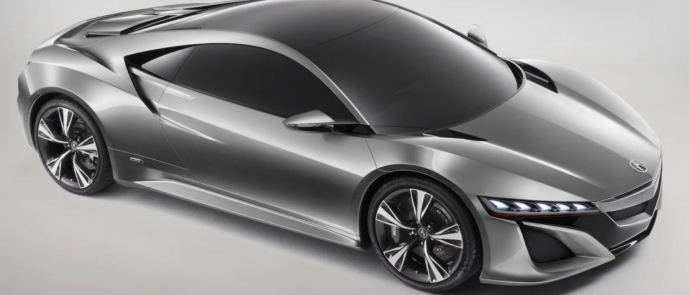 Acura NSX Concept channels Honda heritage with hybrid power