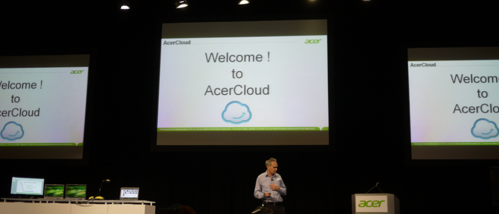 AcerCloud not Acer restricted, open to PCs, Android