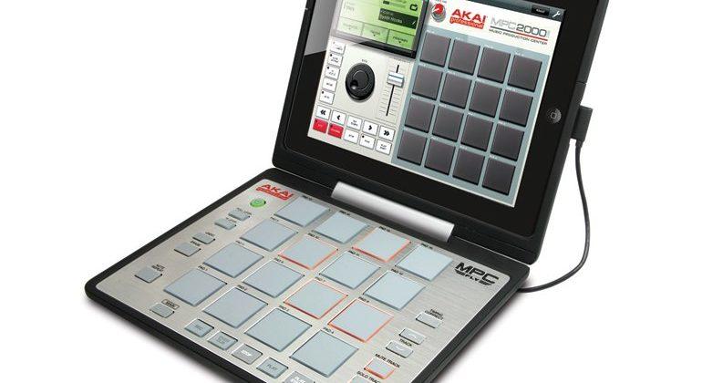 Akai MPC Fly turns iPad 2 into portable beats center