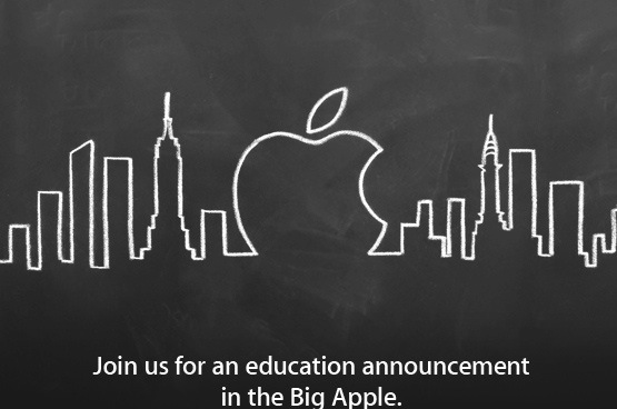 "Apple promises ""Education Announcement"" at Jan 19 event"