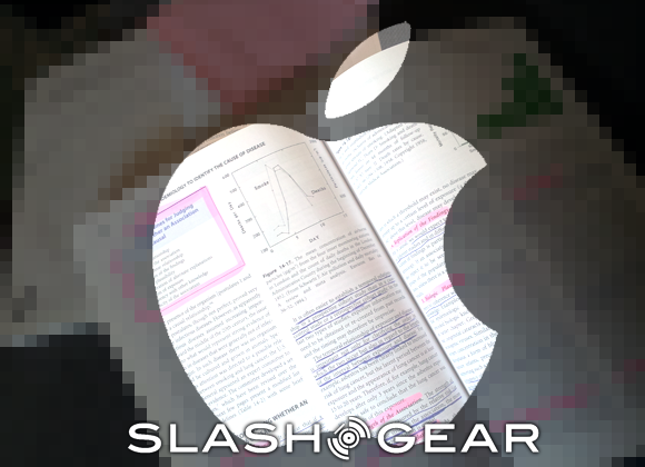 Here's the Apple textbook that'll be presented on Thursday