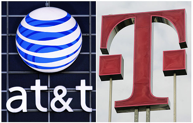 AT&T and T-Mobile seek FCC approval for $1 billion spectrum transfer