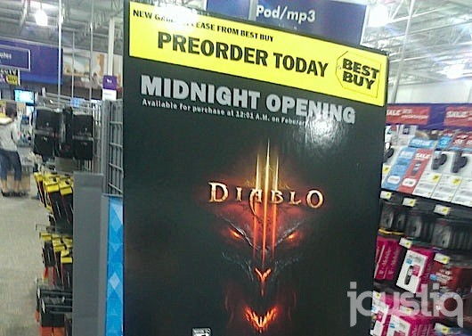 Diablo III launching February 1 2012 says retailer