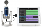 Blue Spark Digital condenser microphone for iPad revealed and detailed