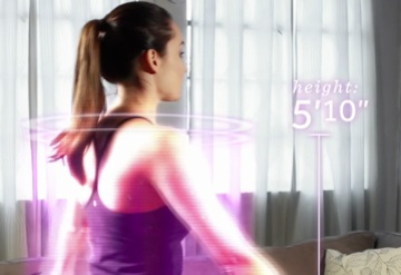 Bodymetrics PrimeSense 3D Uses Kinect for Body-mapping
