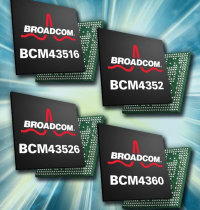 Broadcom outs 5G WiFi chips for 1.3Gbps wireless