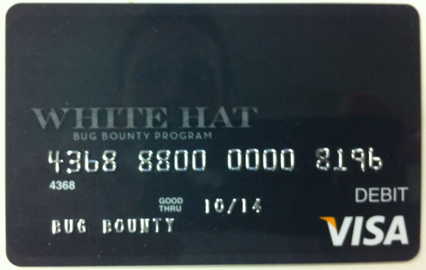 Facebook hands out VISA debit cards to security researchers
