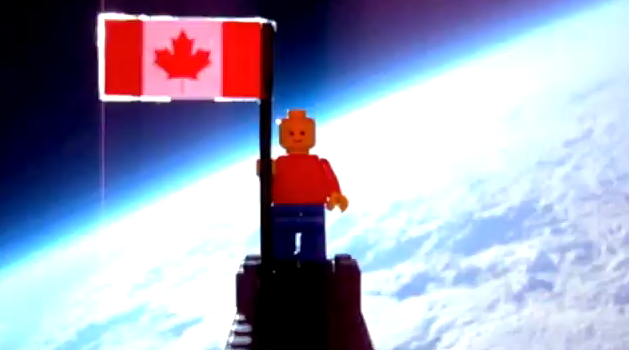 Canada reaches space with Lego