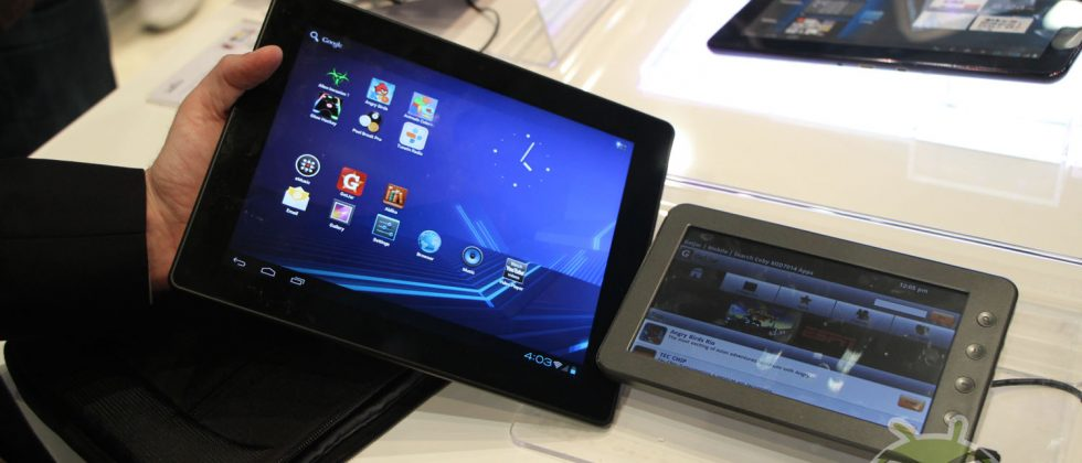 Coby Kyros MID9742-8 sub-$200 ICS tablet gets hands-on play