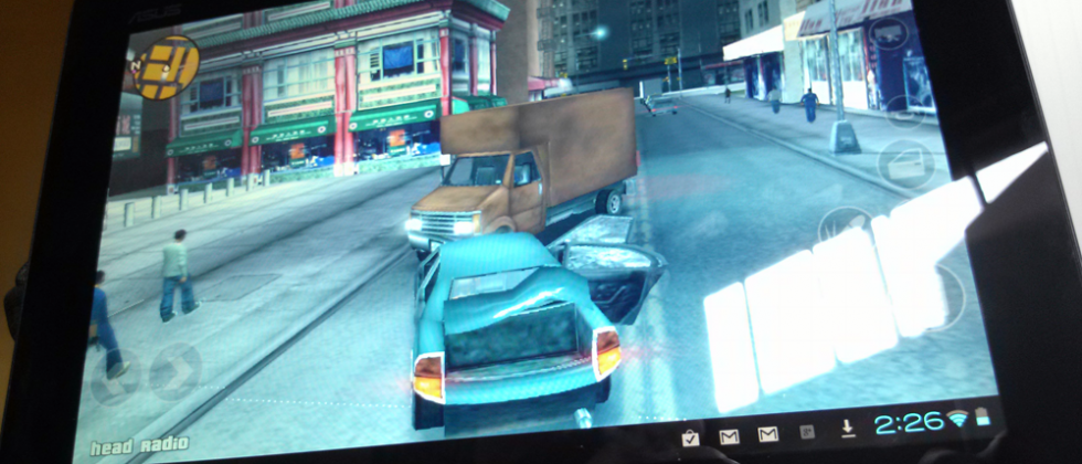 Grand Theft Auto III released for Transformer Prime
