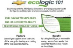 Chevy to place environmental impact labels on all vehicles starting with 2013 line
