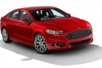 Ford shows off 2013 Fusion with gas, hybrid, and plug-in hybrid versions