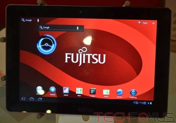 Fujitsu M532 tablet surfaces on video