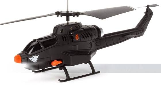 Griffin HELO TC Assault R/C helicopter packs missile sextet