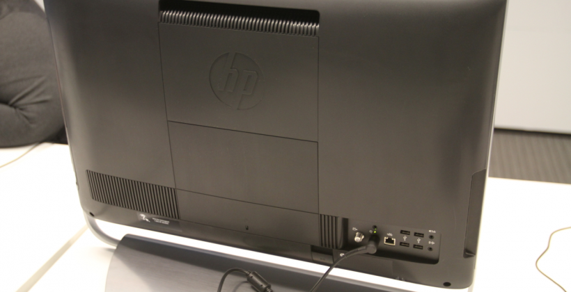 HP Omni 27 all-in-one PC hands-on