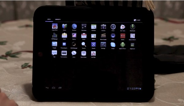 HP TouchPad Ice Cream Sandwich CM9 port gets video tease