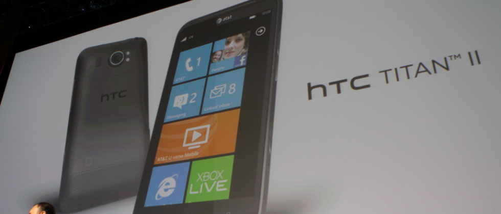 AT&T HTC Titan 2 LTE revealed with 16 megapixel camera