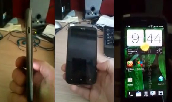 HTC Ville caught on video with Sense 4.0