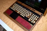 Sony Steampunk laptop mod revealed, made with pine, copper, brass