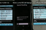 iPhone 4S and iPhone 4 both beat Nokia Lumia 800 in browser benchmarks