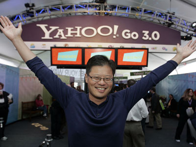 Yahoo co-founder Jerry Yang resigns from board