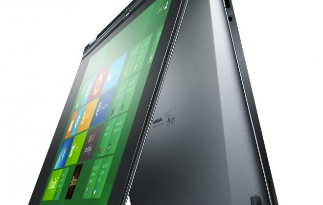 Lenovo YOGA multitouch Win8 notebook has 360 folding screen