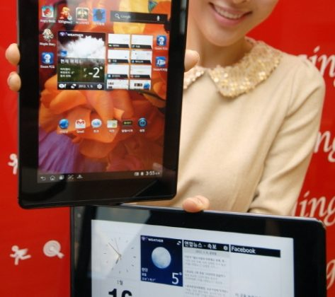 LG Optimus Pad LTE revealed