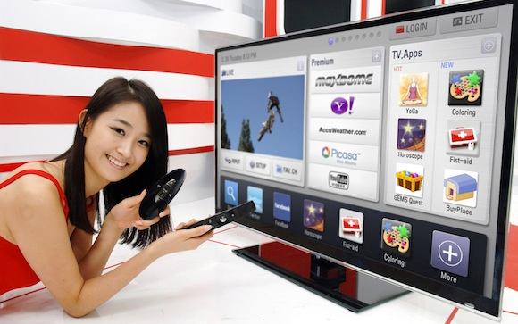 LG reveals first Google TV