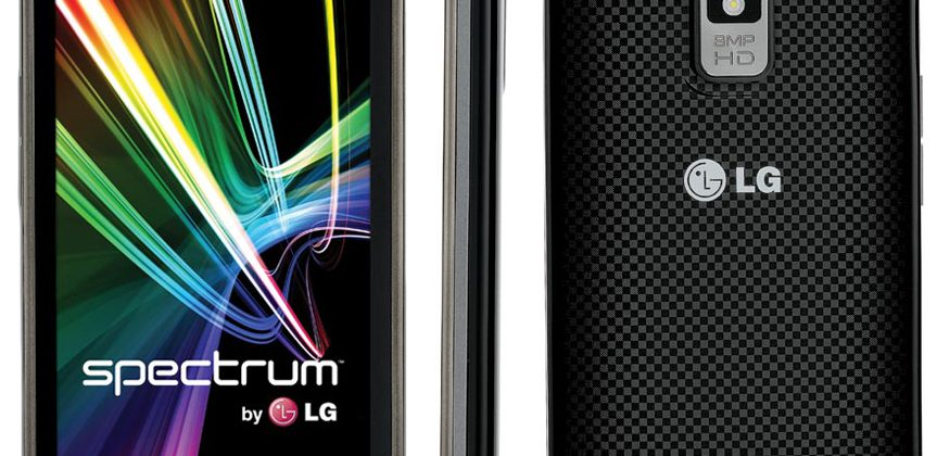 LG Spectrum official: LTE and 720p HD display for $200