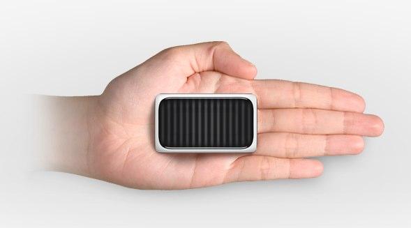 Logitech Cube makes mouse square