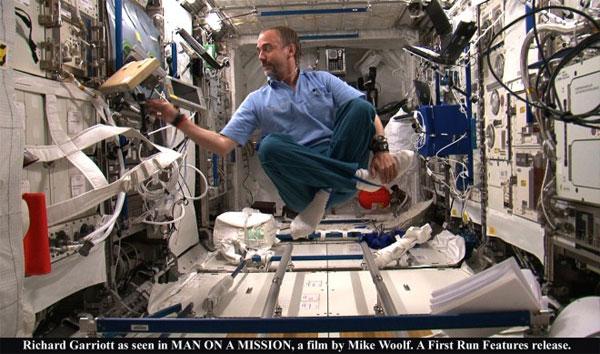 NASA decides to let Richard Garriott's Apogee of Fear film air