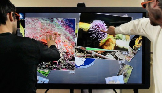 Ideum unveils 65-inch multitouch 3D wall display