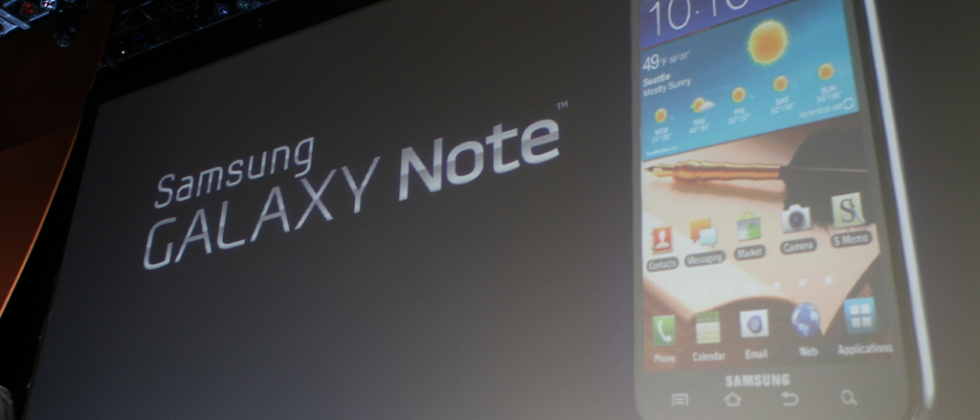 Samsung Galaxy Note LTE revealed for AT&T