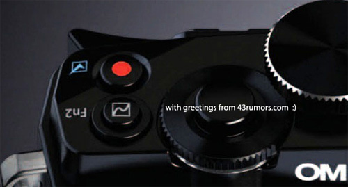 Olympus OM-D camera surfaces in first leaked image