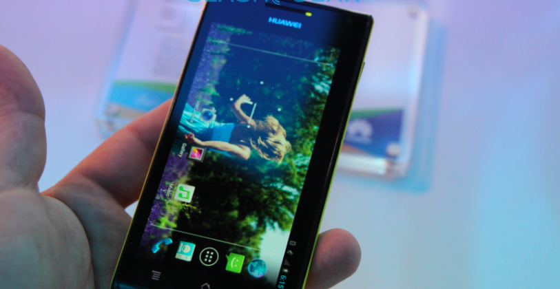 Huawei Ascend P1, hands-on