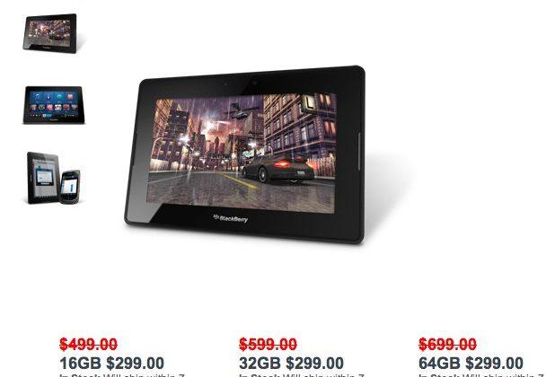 PlayBook put on desperate $299 sale