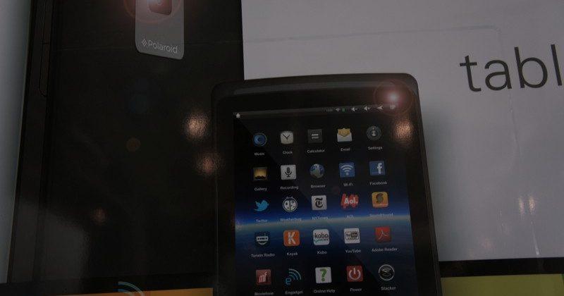 Polaroid Android tablet/eReader leaks