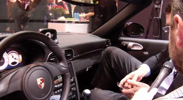 RIM QNX Car 2 shown off at CES in Porsche Concept