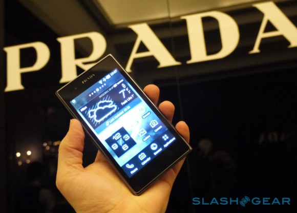 PRADA Phone by LG 3.0 on sale in UK on Friday