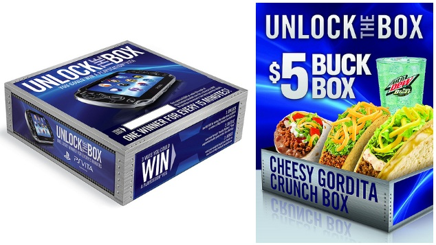 Taco Bell offers PlayStation Vita in pre-release sweepstakes