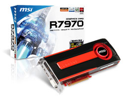 MSI shows off R7970 video card