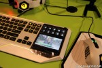 Razer Star Wars: The Old Republic touchscreen keyboard hands on