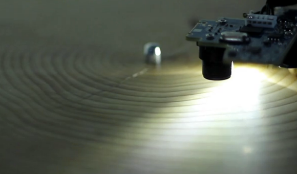 Years record player translates tree rings into music tragically