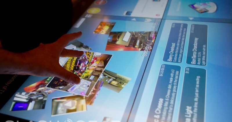 3M Touch 46-inch Projected Capacitive Display technology hands-on