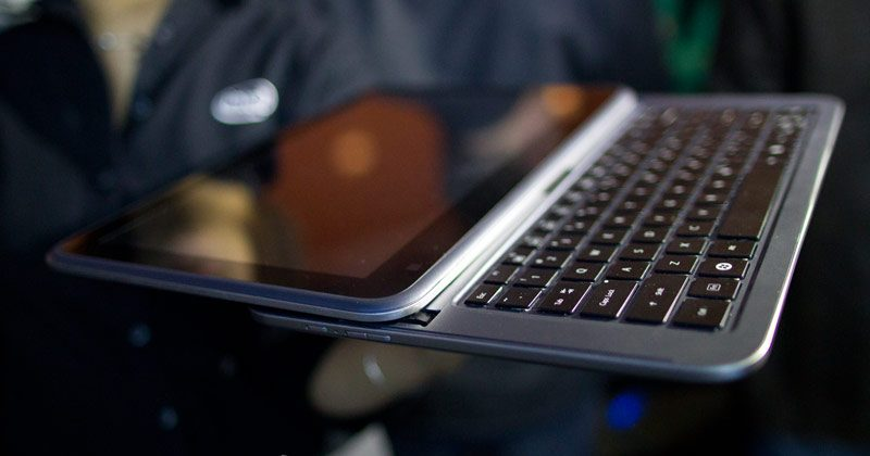 Intel slider concept combines tablet and ultrabook form factors