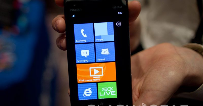 Nokia Lumia 900 AT&T LTE hands-on